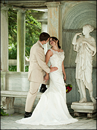 Wedding photo by Rochester, New York photographer Daniel Paniccia.
