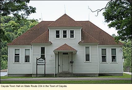 Finger Lakes, New York   Schuyler County   Town of Cayuta  Touristcayuta town