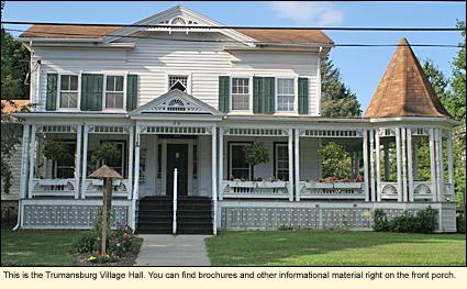Finger Lakes, New York | Tompkins County | Town of Ulyssestrumansburg village