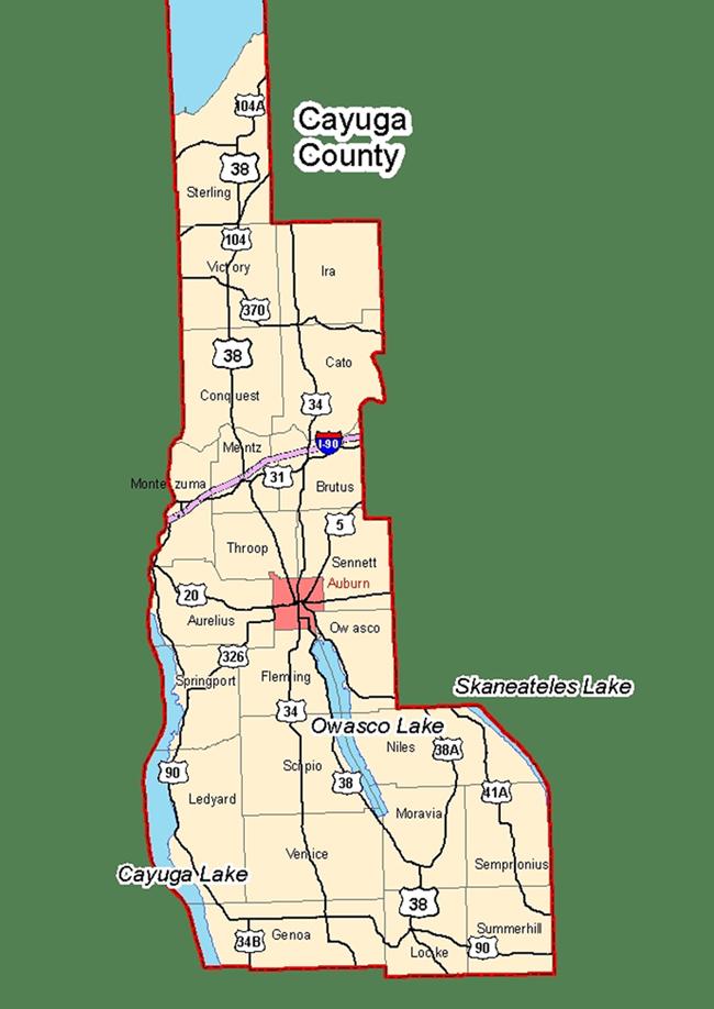 Cayuga County Erwachsenenheime