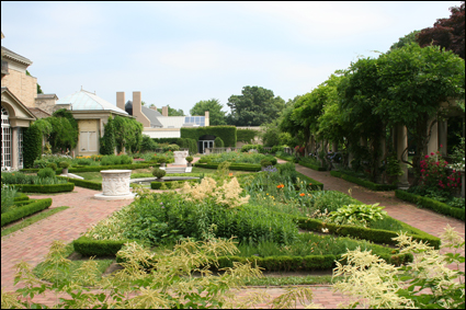 A Portion Of The Gardens At The George Eastman House In Rochester, New York  In