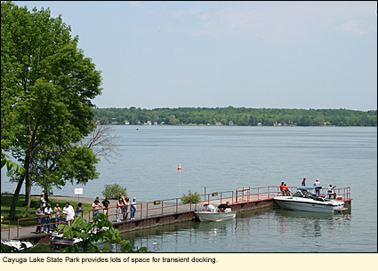 Finger lakes new york state parks seneca county for Cayuga lake fishing