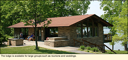 The Lodge At Keuka Lake State Park Is Available For Large Groups Such As Reunions And