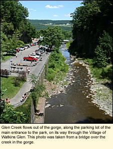 Finger Lakes, New York | State Parks | Schuyler County | Watkinswatkins glen village